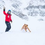 Ski Patrol Assistant Director with Avalanche Dog